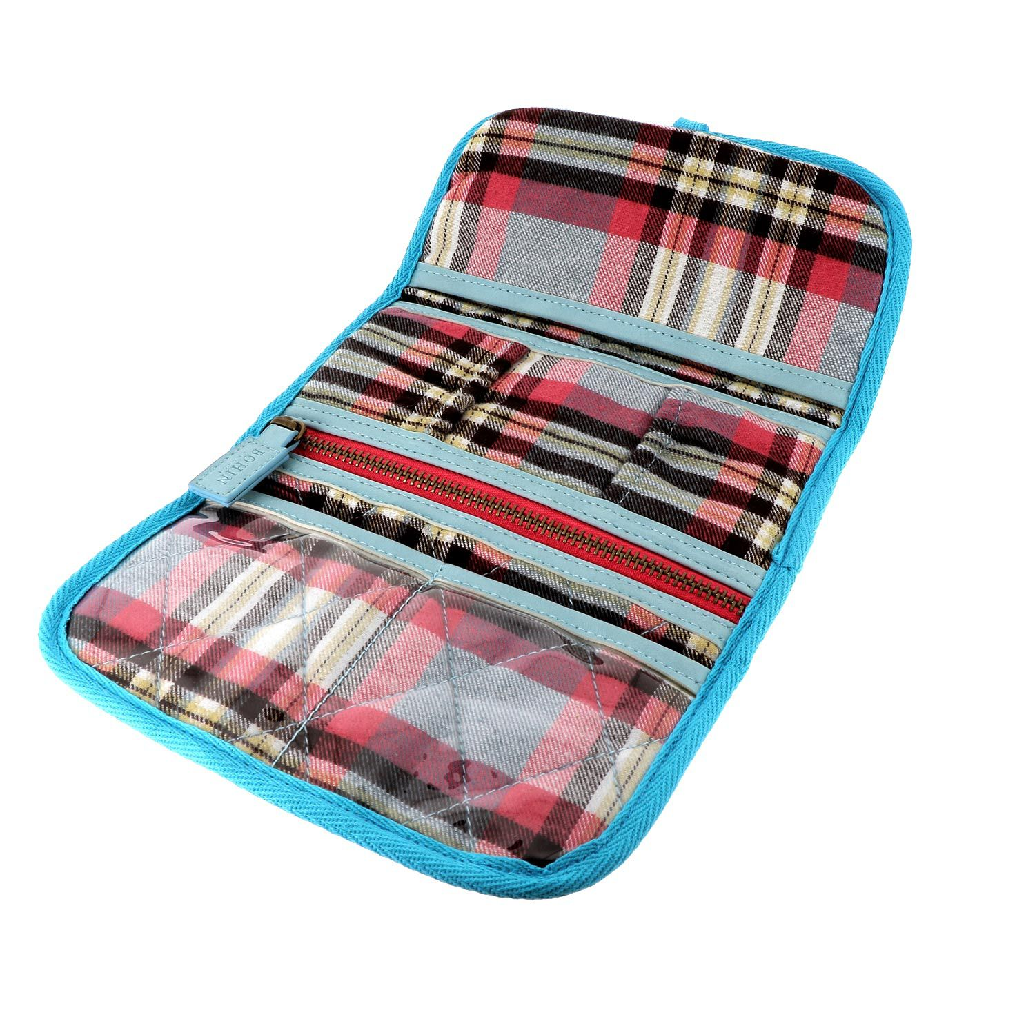 "TARTAN SEWING STORAGE ""BACK FROM SCOTLAND"""